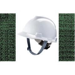 Capacete V-Gard aba frontal MSA com suspensão Push-Key
