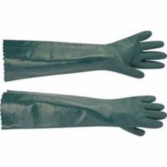 Luvas impermeáveis em PVC forradas cano longo CA - 34.570 PLASTCOR